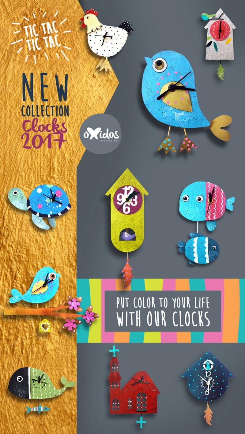 Clocks Collection 2017