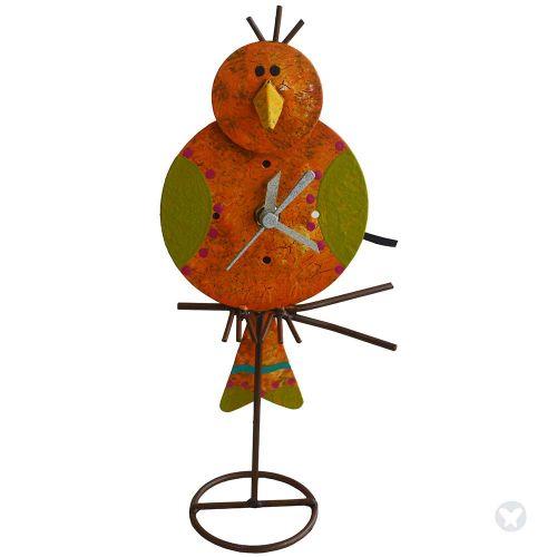 Canario table clock orange