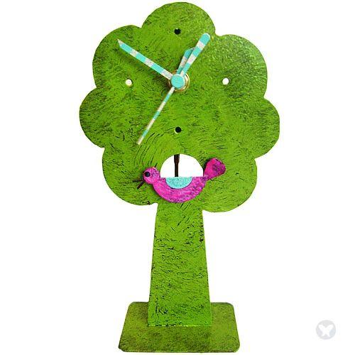Tree clock green